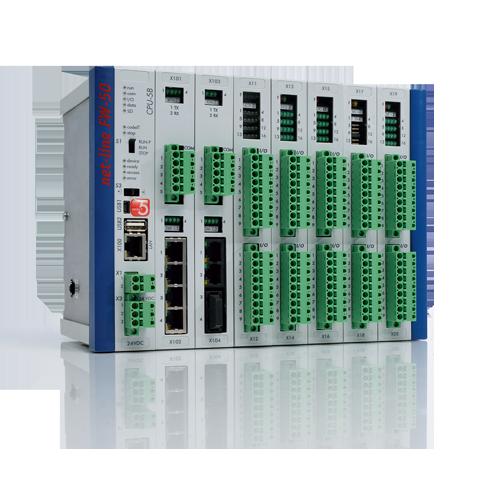 【net-line FW-50】 Scalable RTU 7