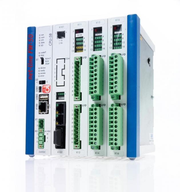 【net-line FW-50】 Scalable RTU 8